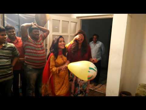 rekha akaknksha bday celebration on set assa sasar surekh bai