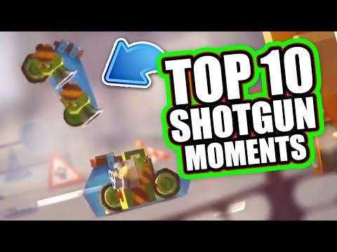 'TOP 10 BEST SHOTGUN MOMENTS' | C.A.T.S: Crash Arena Turbo Stars [MUST WATCH]