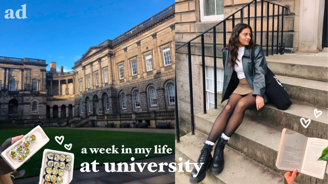 Download a week in my life at university 📖 studying, what i eat, edinburgh vlog!