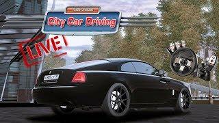 [LIVE 🔴] City Car Driving 1.5.5 - MODS, NEW TEXTURE MOD | #CCD #AUDI | PL & ENG | 1080p & 60 fps