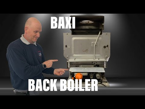 Inside The Boiler Casing Baxi Back Boiler Replacement With A Combination Boiler