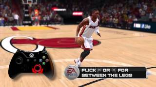 Nba Live 14 Brand New Signature Dribble Moves| Analysis Move Dribble Control| Xbox One Ps4
