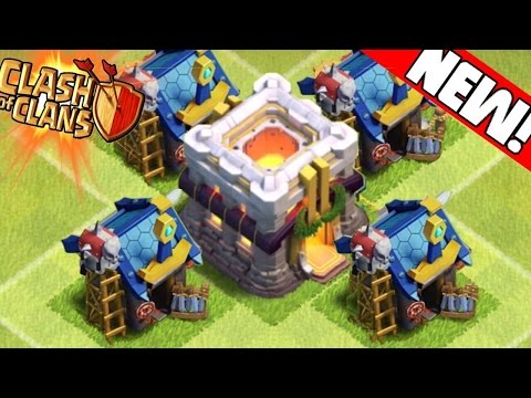 Clash of Clans - TOWN HALL 12 UPDATE WISHLIST! Freeze Tower, Witch Hero, Gem Mines, Waterfall!