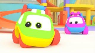 Би-Би Знайки – Все серии про согласные буквы  - мультфильм про машинки – учим буквы