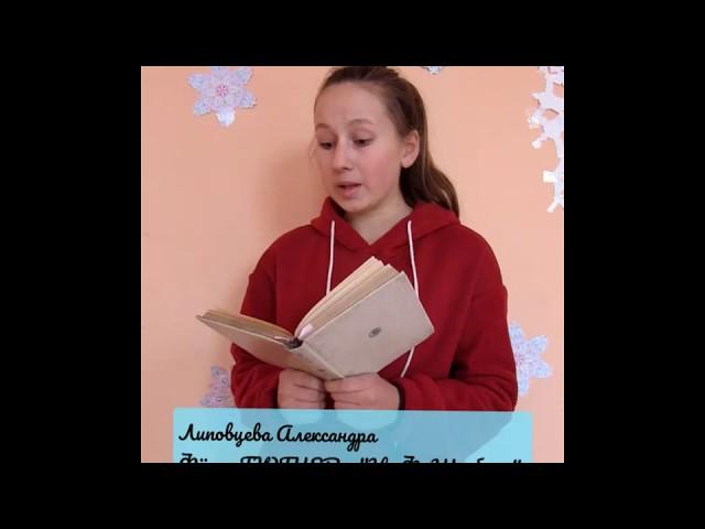 Изображение предпросмотра прочтения – АлександраЛиповцева читает произведение «Н. Ф. Щербине» Ф.И.Тютчева