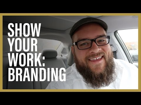Show Your Work! Presenting a Brand Identity Project