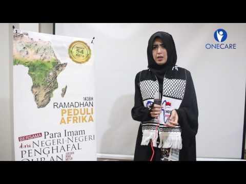 Sabrina Dukung Program Ramadhan Peduli Afrika bersama Imam dar...