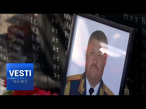 Death of a Hero - Russia Pays Last Tribute to General Killed in Syria