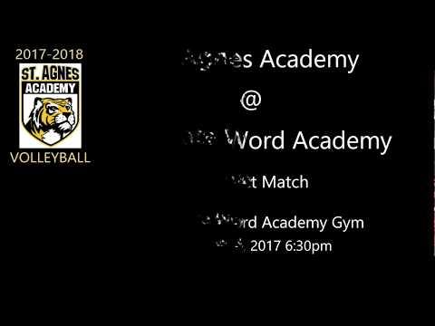 St  Agnes Academy @ Incarnate Word Academy - District Match - 10/03/2017