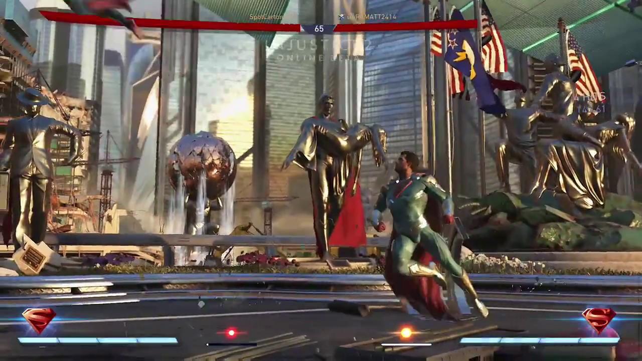 Injustice 2 Supergirl Vs Superman - YouTube
