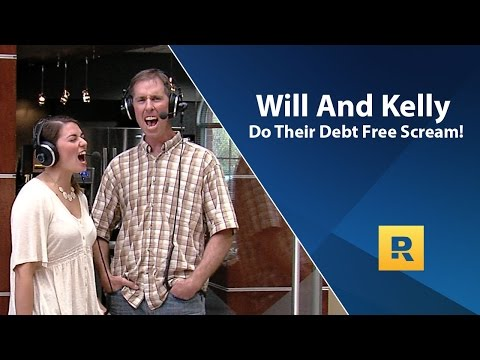 Will and Kelly's Debt Free Scream! Paid off $254,000 in 8 years.