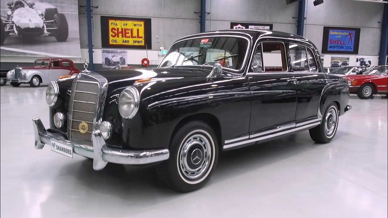 1958 Mercedes-Benz 220S Saloon - 2020 Shannons Autumn Timed Online Auction