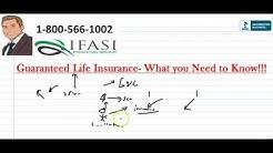Guaranteed Life Insurance - What is Guarantee Life Insurance