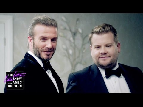 Thumbnail: The Next James Bond - David Beckham v James Corden