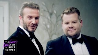 The Next James Bond - David Beckham v James Corden thumbnail