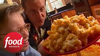 Alton Brown Makes Baked Macaroni and Cheese | Food Network