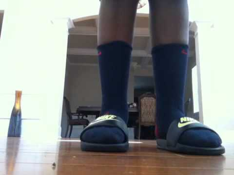 Yellow Gucci Slides