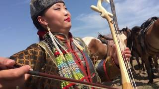 The Altai band - Shiree nuur / My Iphone 6S video