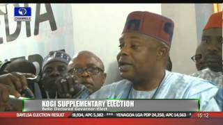 News Across Nigeria: Yahaya Bello Of APC Declared Winner Of Kogi Poll 07/12/15