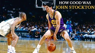 How Good Was John Stockton? : A Player Analysis
