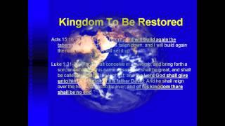 Royal Purple and the Kingdom of God Mr Shauyn Smith July 2005 Christadelphians