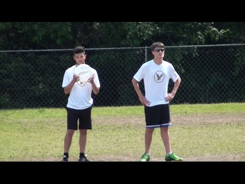 Fletcher Academy Falcons vs Camelot Academy  5/6/15 Ultimate Frisbee