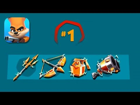 Zooba - Gameplay Part 24 - All Legendary Weapons (iOS, Android)