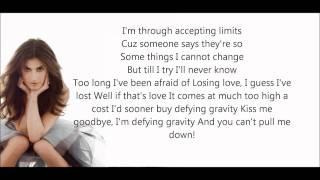 Idina Menzel-Defying Gravity Lyrics HD
