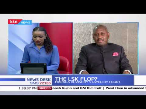The LSK Flop? Conversation with Otiende Amollo on LSK March to parliament and fate of the House