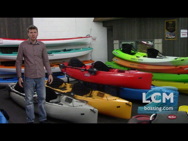 Hobie Odyssey Tandem Sit On Top - A Loaded Tandem Kayak
