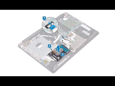 Dell Inspiron 5770 - Hard Drive Replacement  - Laptop Repair