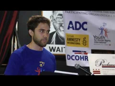 Human Rights Conference, Busboys and Poets 2011