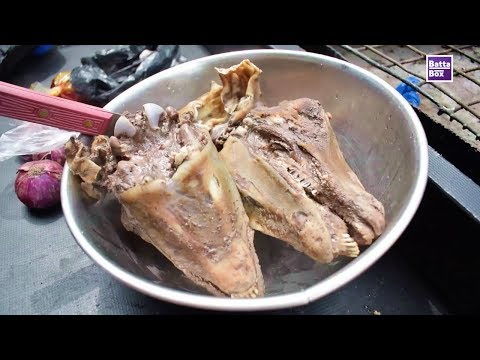 How to eat Goats Head in Nigeria
