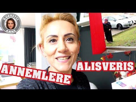 ANNEMLERE ALISVERIS - Evlerini düzüyoruz - Günlük Vlog #18 GURBETCI ANNE