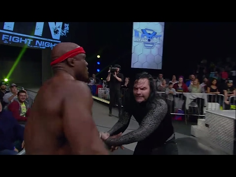 Jeff Hardy Challenges Bobby Lashley for the World Title   IMPACT Feb. 2nd, 2017