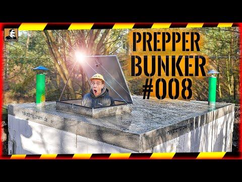 ???? PREPPER BUNKER #008 | ER IST FERTIG | BUNKERTÜR | STAHLBETONDECKE | ROHBAU | Survival Mattin