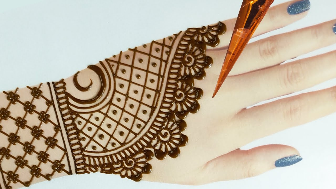 simple and easy mehndi