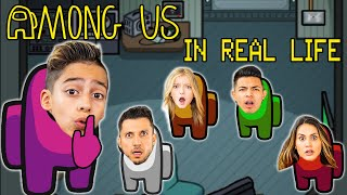 Playing AMONG US But in REAL LIFE! (Imposter IQ 999%) | The Royalty Family