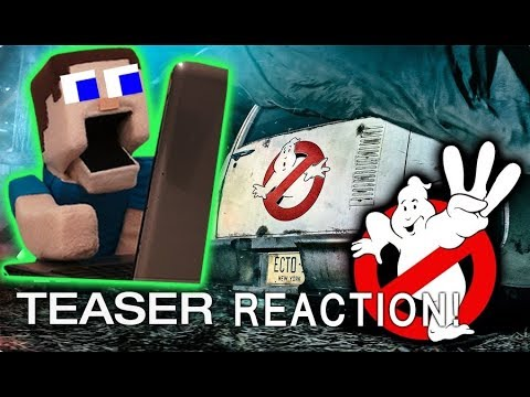 GHOSTBUSTERS 3 Movie TRAILER Puppet Steves Reaction Thoughts & Predictions