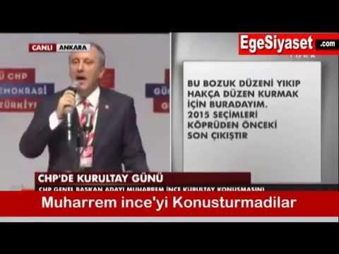 Muharrem İnce'yi Kılıçdaroğlu Taraftarları Konuşturmadı