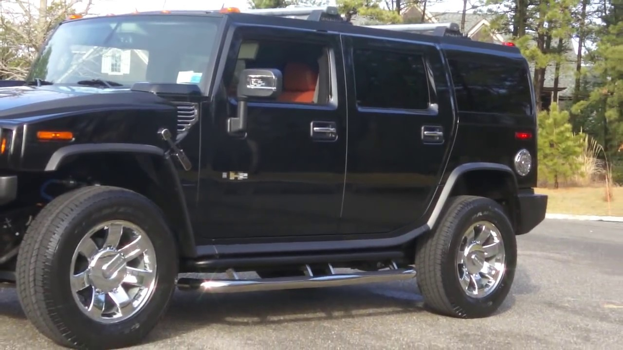 Review of 2008 hummer h2 black sedona navigation dvd new 2009 20 rims only 1 945 miles youtube