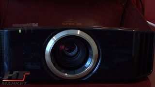 JVC 4K Home Theater Projector Demo Review of DLA-RS57