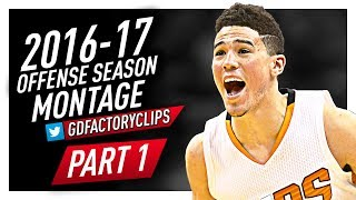 Devin Booker Offense Highlights Montage 2016/2017 (Part 1) - Mamba Mentality!