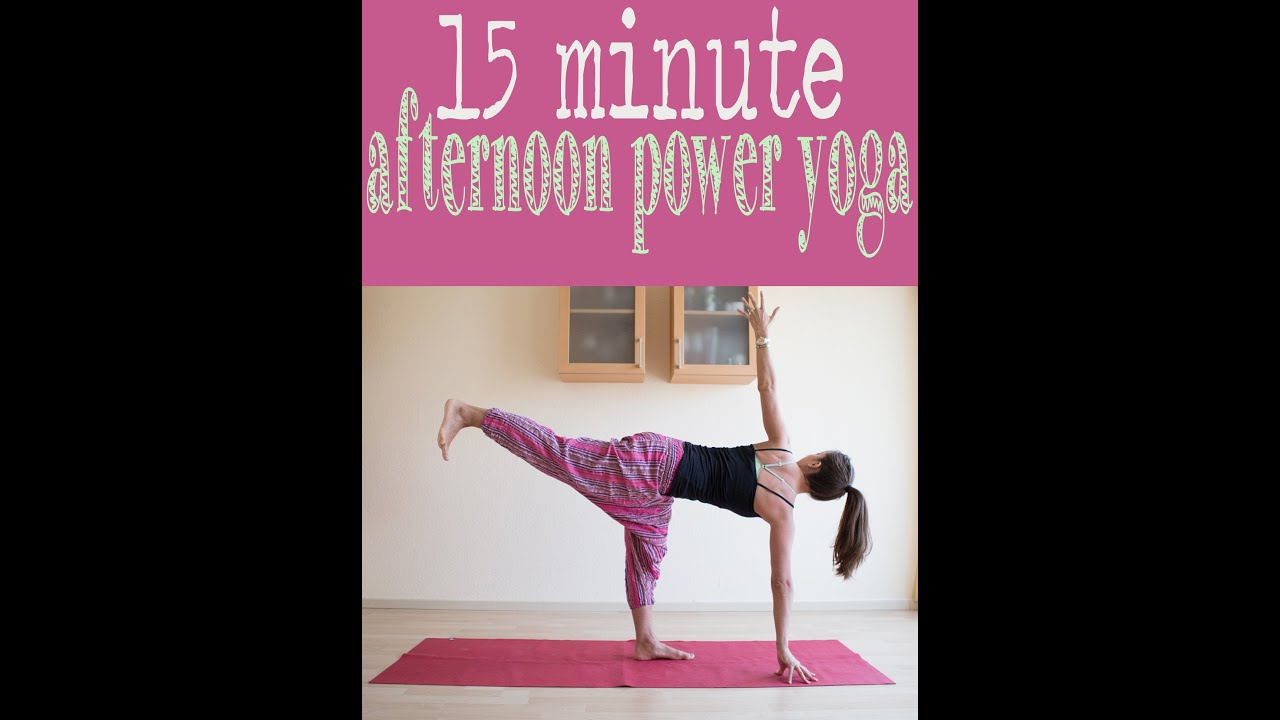 Youtube Instructional Eyeshadow Tattoo Makeup: 15 Minute Afternoon Power Yoga Flow