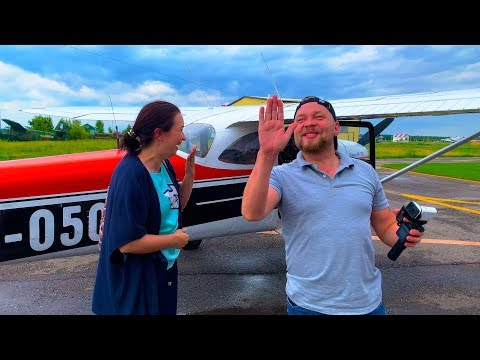 КОЛОМНА Полет на самолете Cessna 172 ТЕСТИРУЕМ НА САШЕ 🤣 Ужин на 5 баллов! влог