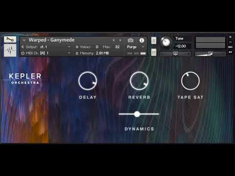 Making  with Kepler Orchestra Demo - Spitfire  -