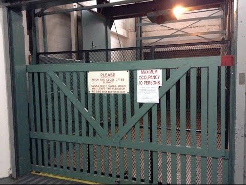 vintage-freight-elevator-@-downtown-self-storage-sacramento,ca