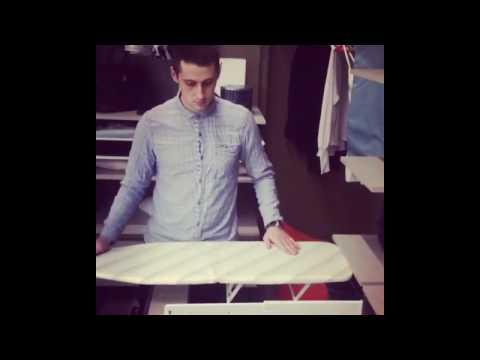 гладильная доска в гардеробные комнаты