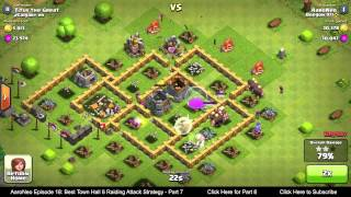 BEST Town Hall Level 6 (TH6) Raiding Attack Strategy (Giants & Healers) Clash of Clans - Part 7