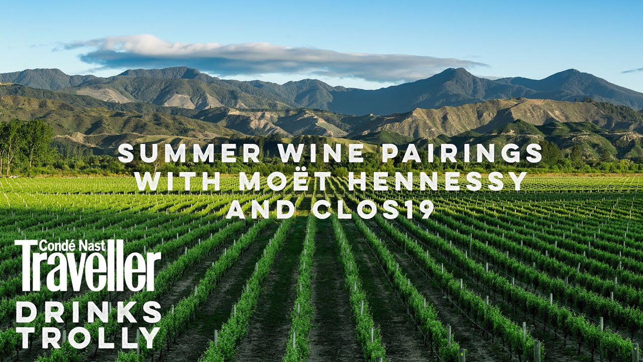 Summer wine pairings with Moët Hennessy and Clos19 | Condé Nast Traveller